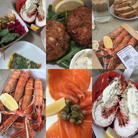 Seafood & Shellfish, East Pier Smokehouse, St Monans - #LoveFife Chocolate, Seafood and Gin in the East Neuk