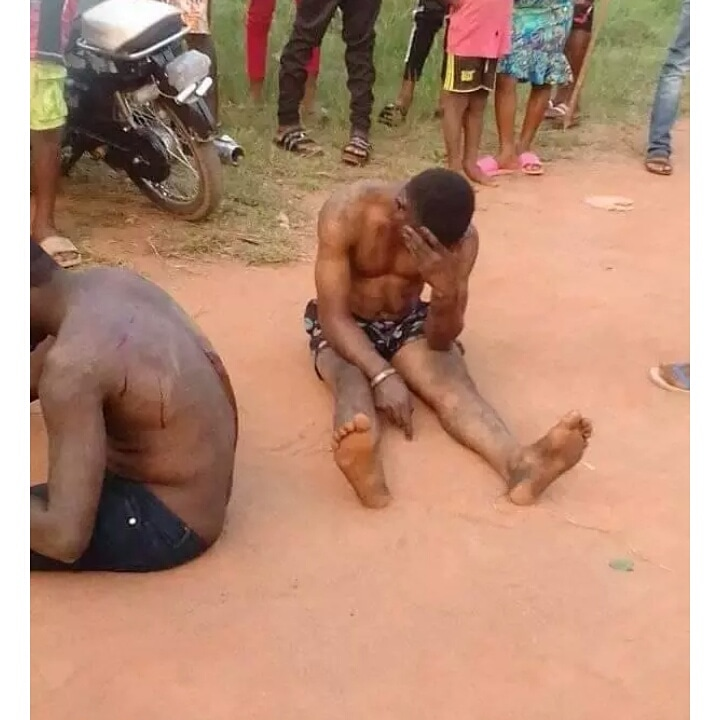Married Police Officer Caught With his Gay Lover in Imo State