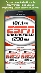 Don't know what song's been playing on the radio? Use our service to find it! Our playlist stores a ESPN Bakersfield track list for the past 7 days.