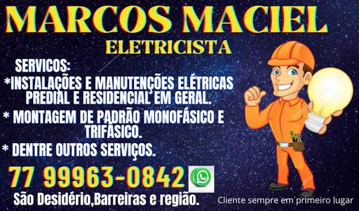 Marcos Maciel Eletricista