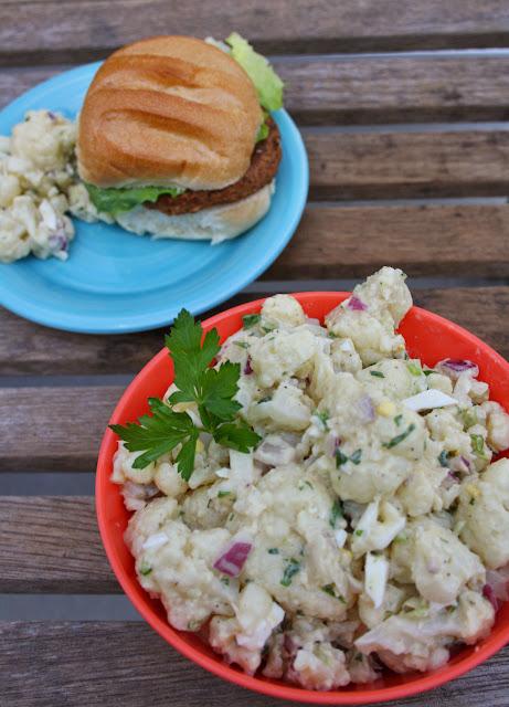 No Potato Salad Cauliflower Salad