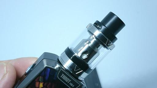 DSC 4213 thumb%255B2%255D - 【MOD/スターター】「Vaporesso Tarot Miniスターターキット」(ヴァポレッソ・タロットミニ)レビュー!自動ワッテージ調節&CCW/CCTつき18650バッテリーシングルサイズBOX MOD【電子タバコ/VAPE】