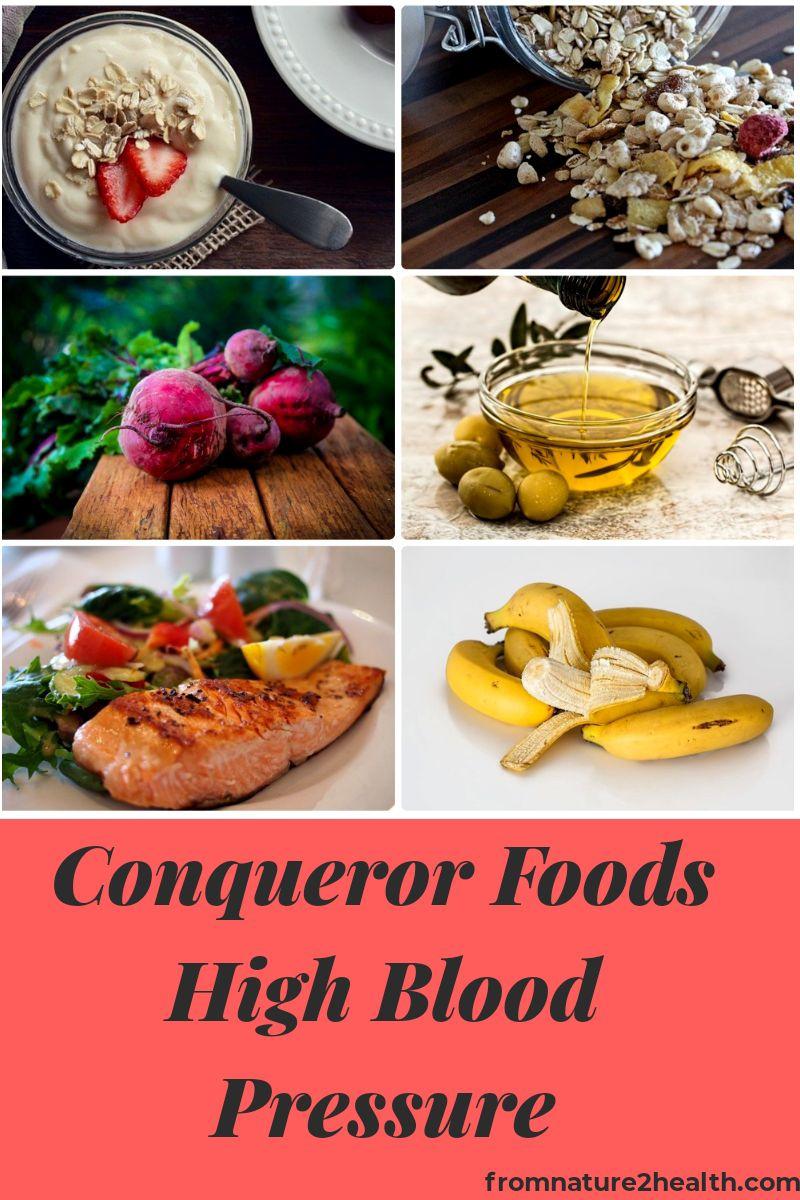 Conqueror Foods High Blood Pressure