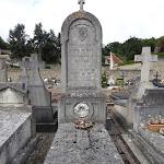 Cimetière : tombe ud Comte de Dion (1823-1909)