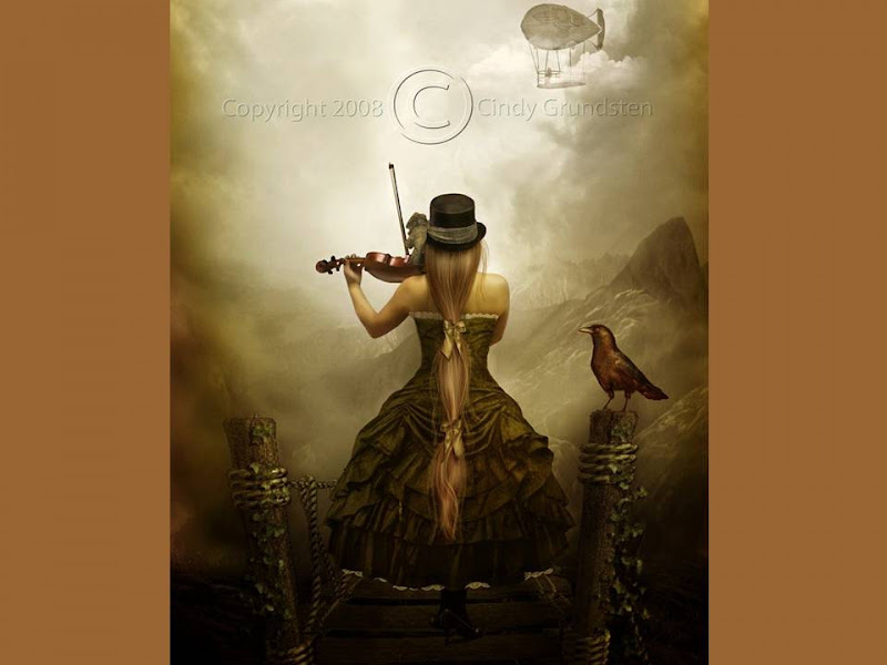 Playing The Violin, Magic Beauties 3