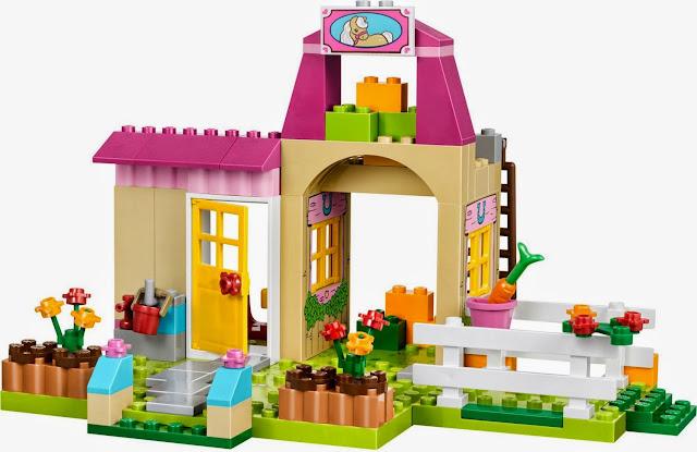 Mô hình trang trại rất đẹp mắt trong bộ xếp hình Lego Juniors 10674 Pony Farm