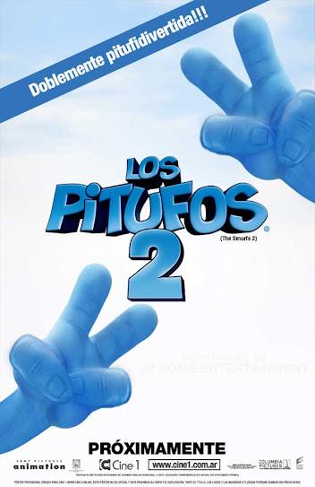 Los Pitufos ,cartel