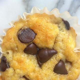 Chocolate Chip Baobab Corn Muffin.