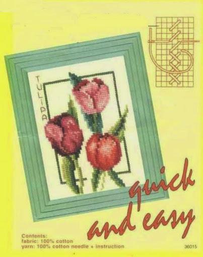 Tulip flower 988 chart