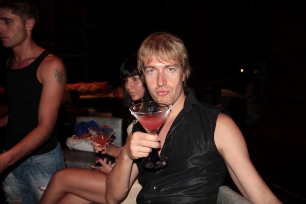 Alex At A Party, Alex Lesley
