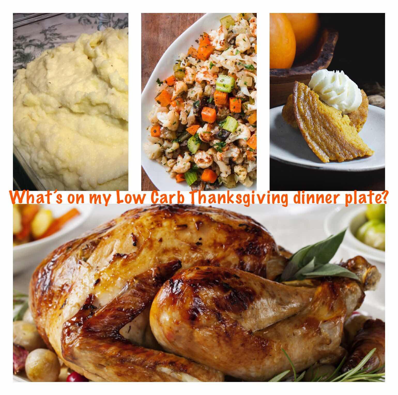 My Thanksgiving Dinner Plate
