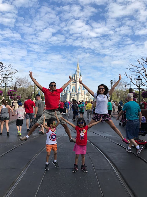 Disney World itinerary 5 days 4 nights with 2 young kids
