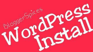 WordPress Installations Succeeding