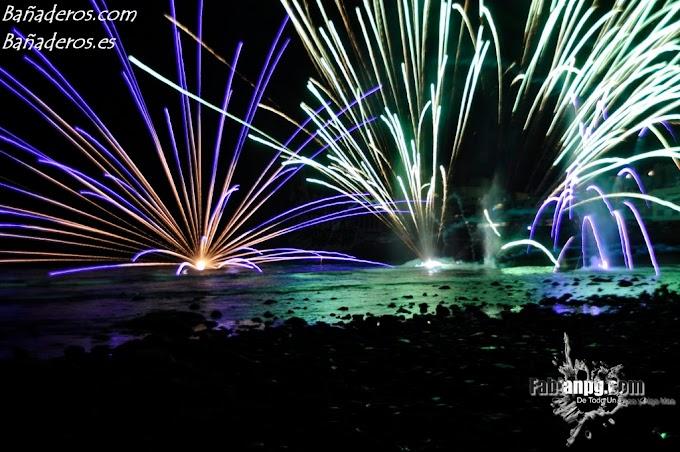 Fuegos Acuáticos y Aereos & Verbena, Fiestas en honor a Santa Lucía 2011 El Puertillo