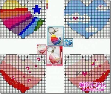 corazones en punto de cruz laborespuntocruz (25)