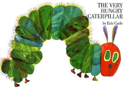 The very hungry caterpillar 好餓的毛毛蟲 Eric Carle 艾瑞•卡爾 親子共讀