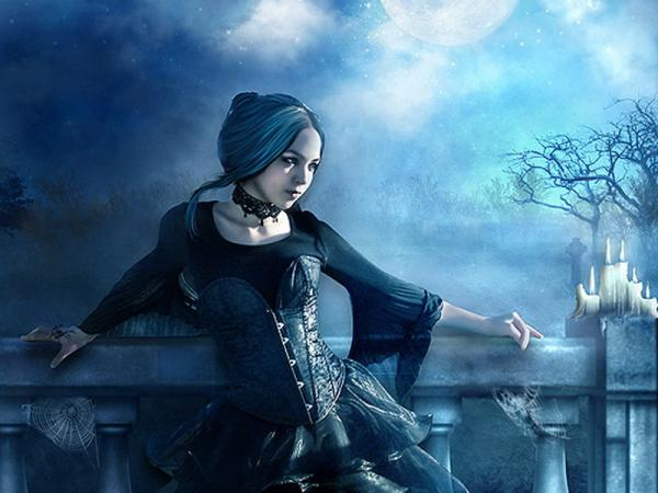 Gothic Princess In Moonlight, Gothic