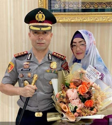 Kapolres Kota Padang Imran Amir Naik Pangkat