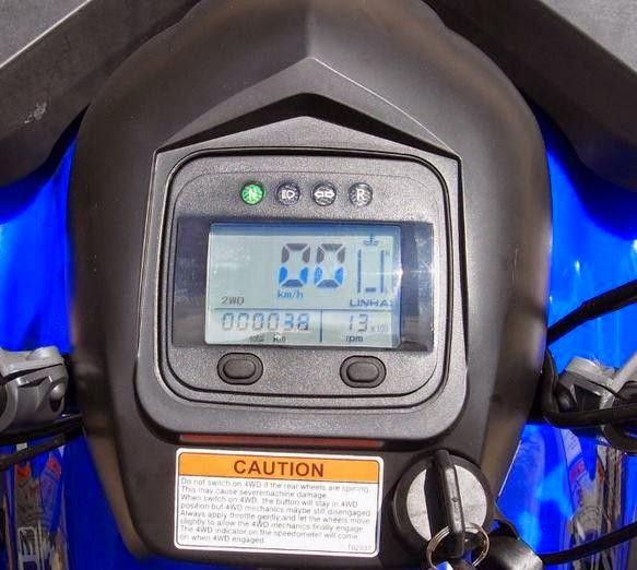 400 Linhai Yamaha ATV Farm 4x4 Quad Bike Digital Dash