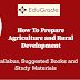 How to Prepare Agriculture and Rural Development for NABARD Grade A