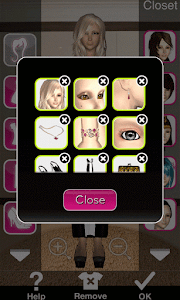 Click to Enlarge - Style Me Girl Level 21 - Hollywood - Lyan Li - Closet