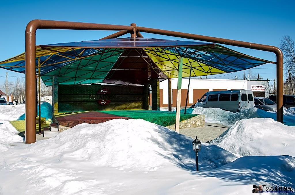 Летняя сцена. Может быть использована и в зимний период, что было продемонстрировано на открытие ледовой арены 1 декабря.