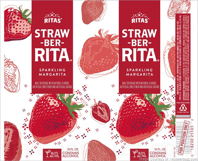 Ritas - Straw-Ber-Rita & Lemon-Ade-Rita Sparkling Margarita