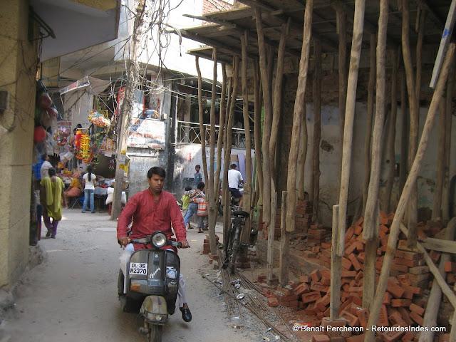 Échafaudage indien, Delhi