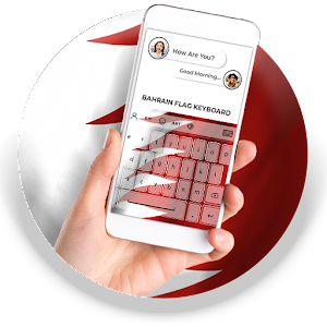 Bahrain Flag Keyboard - Elegant Themes APK Download for Android