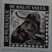 timbre Haute-Volta 009