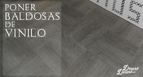 El suelo de mi ba o nuevo con losetas vin licas for Revestimientos vinilicos para azulejos