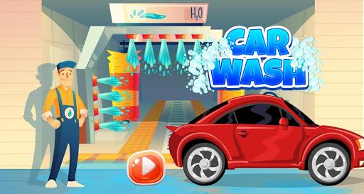 Kids Sports Car Wash Salon Auto Workshop Station  screenshots 1