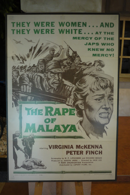 The Rape of Malaya movie poster