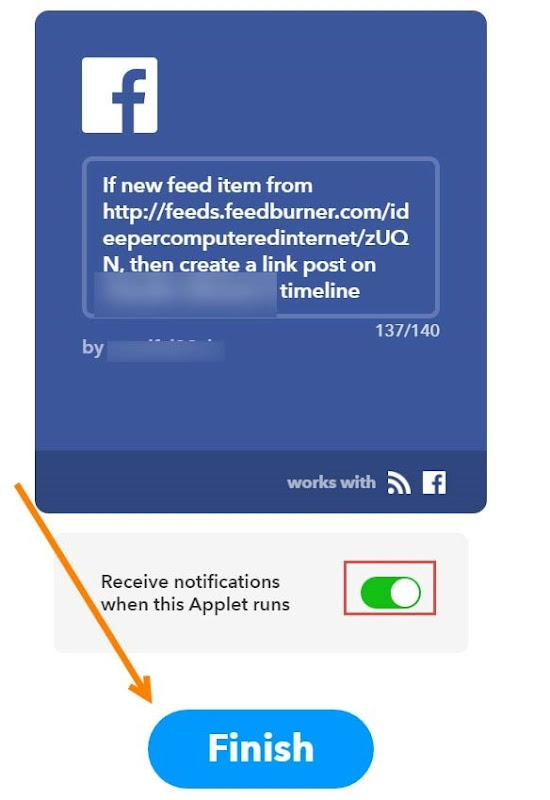 creare-applet-feed-facebook