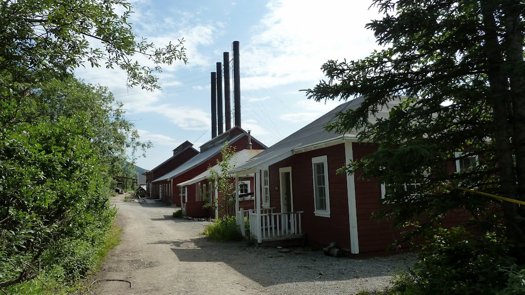 cottages and power plant