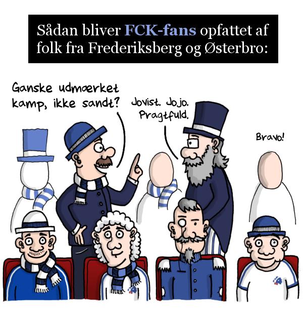 Hvad er forskellen på FCK- og Brøndbyfans?