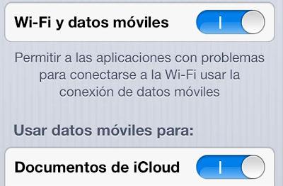 iOS 6 permitirá a las aplicaciones usar datos cuando el WiFi sea inestable