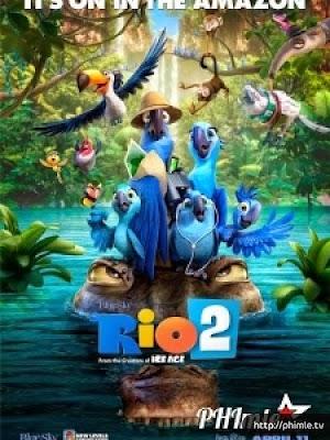 Phim Chú vẹt Rio 2 - Rio 2 (2014)