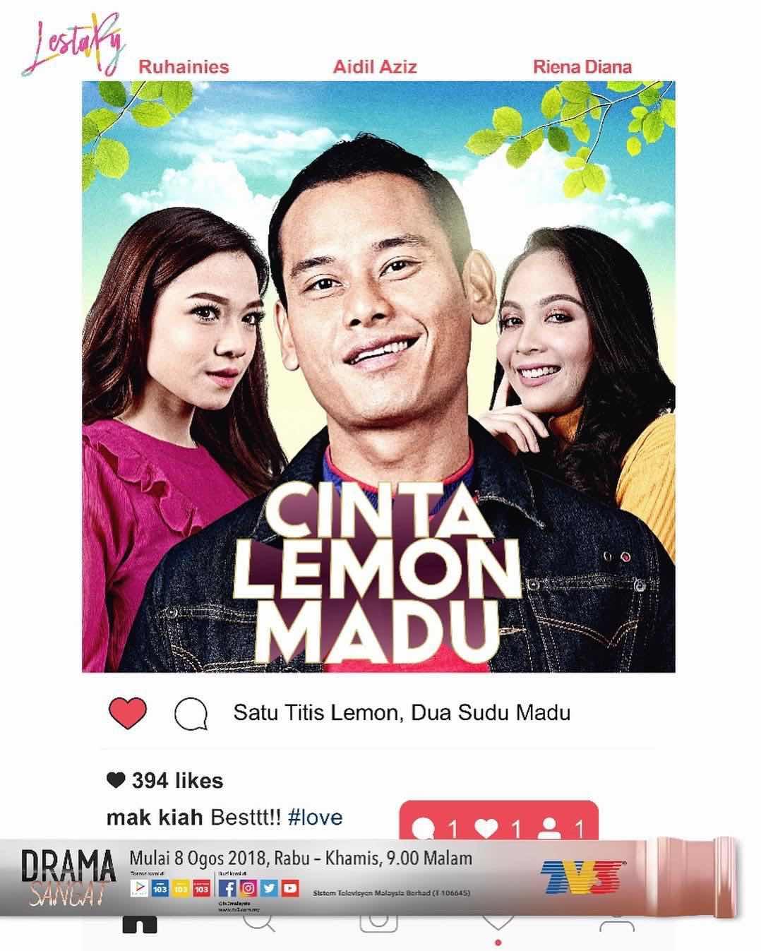 %255BUNSET%255D - Sinopsis Drama Cinta Lemon Madu (slot Lestary TV3)