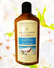 Olio di Cocco & Monoï L' Erboristica di Athena's teresagranara