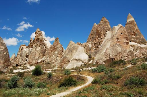 Турция: Каппадокия, дорога