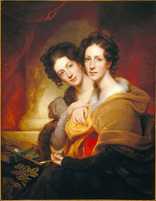 Rembrandt Peale - The Sisters (Eleanor and Rosalba Peale) - Google Art Project