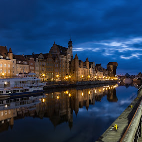 Gdansk waterfront by David Guest - Buildings & Architecture Public & Historical