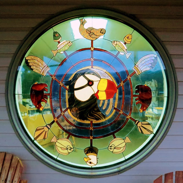 Seldovia Village Tribe Visitor Center window