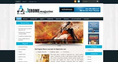 Free Wordpress Theme - Jerome