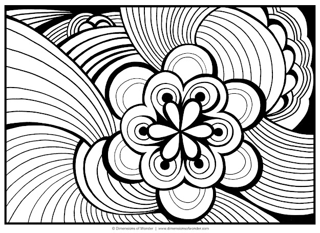 Abstract Coloring Pages  Free Large Images