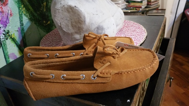 Very cute Superga loafers I bought in Italy for really not a lot of money http://isafashionebella.blogspot.com #bargainhunter
