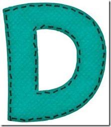 d letras verdes