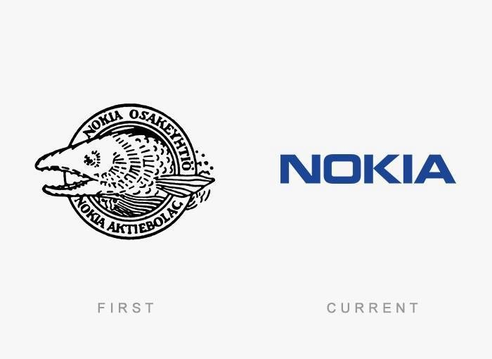brand logos with theri first and final design (9)