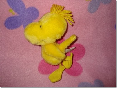 Peanuts and the Gang Woodstock McDonalds Plush 6.5 Inches